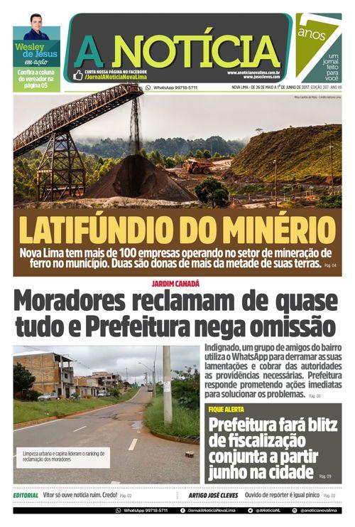 Jornal A Notícia - Edição 287