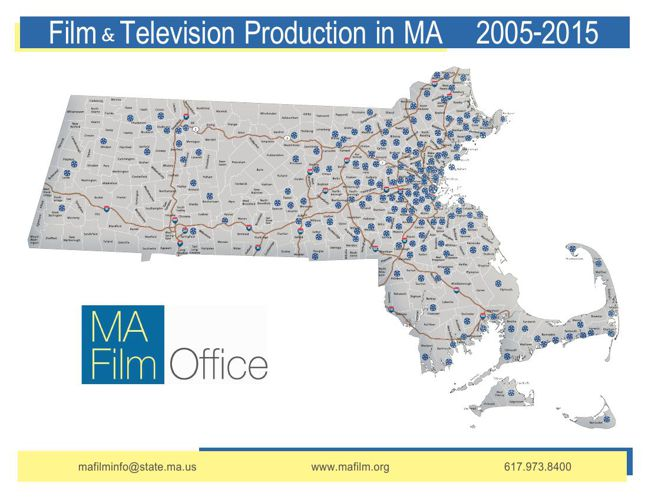 Massachusetts Filmography Geography