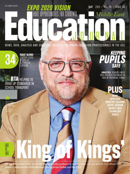 Education Journal Middle East May 2015