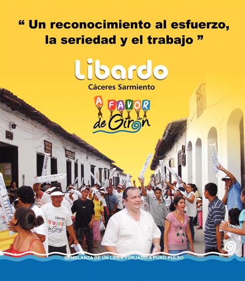 Perfil Libardo Cáceres