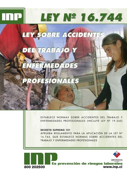 Ley de Accidentes del Trabajo y enfermedades laborales