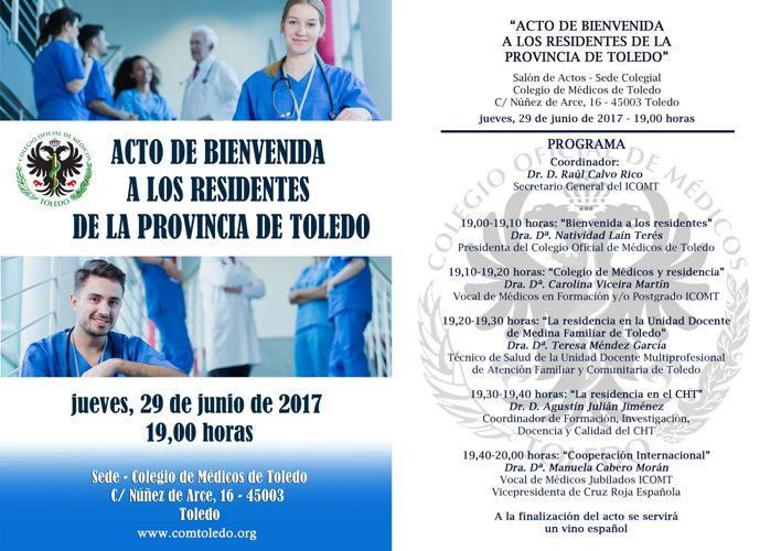 Programa de Bienvenida de Residentes2017