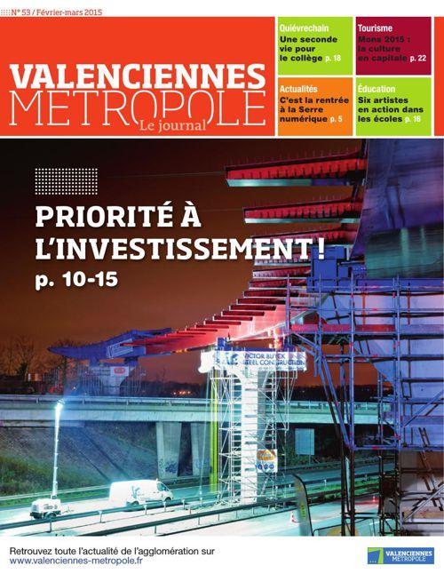Valenciennes Metropole, le journal (numéro 53)