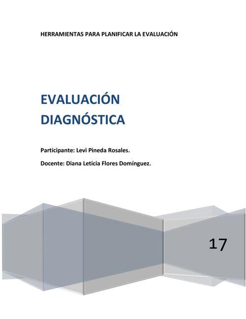 Evaluación diagnóstica.