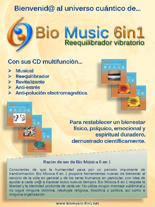 Introducción a BIOMUSIC 6in1