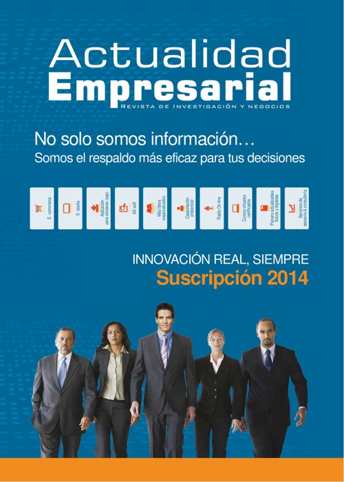 Revista Actualidad Empresarial - Brochure 2014
