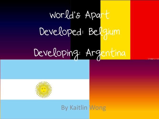 Worlds Apart Assignment