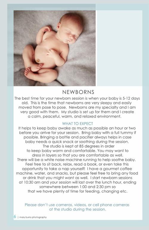 Newborn Information