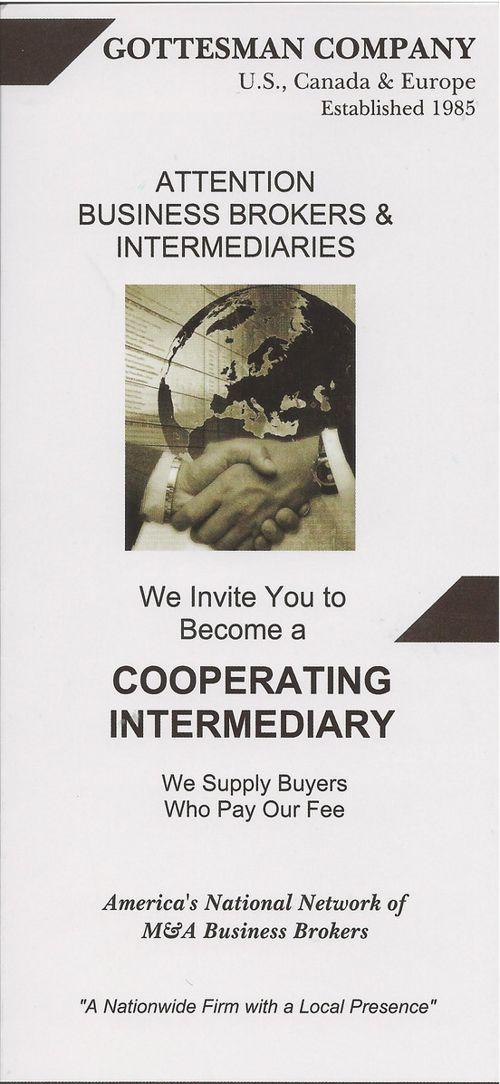 Gottesman Cooperating Intermediary Brochure