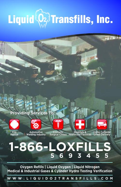 Liquid o2 Transfills - Catalog