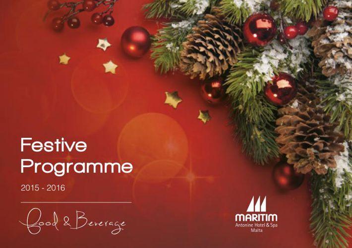 MARITIM Festive Season Brochure