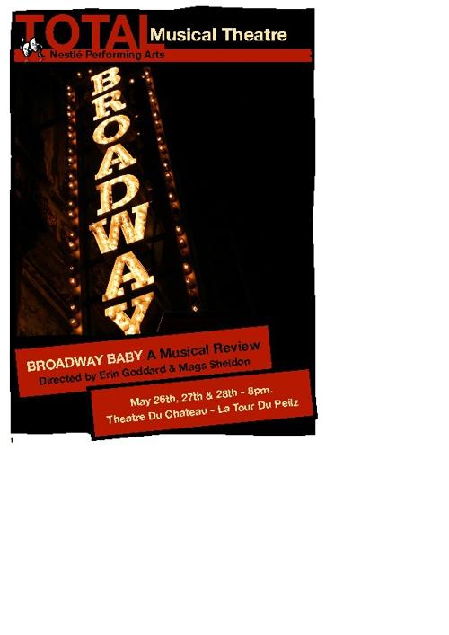 TMT_Broadway Baby - Programme