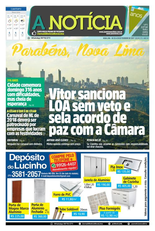 Jornal A Notícia - Edição 273