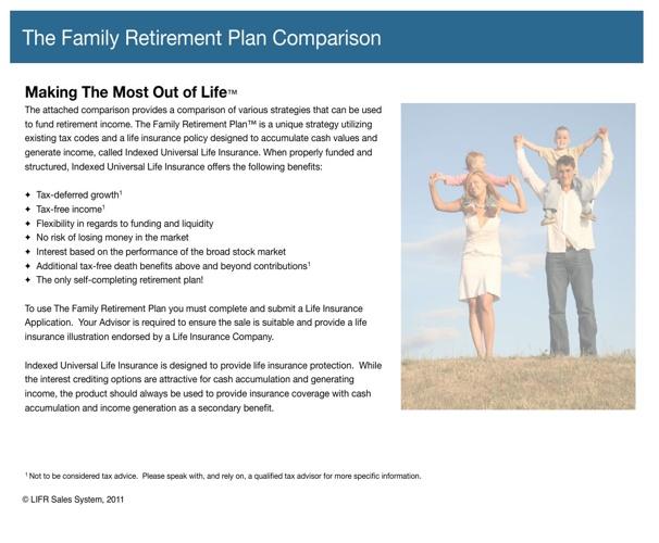 Family Retirement Plan