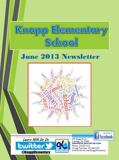 Knapp eNewsletter June 2013