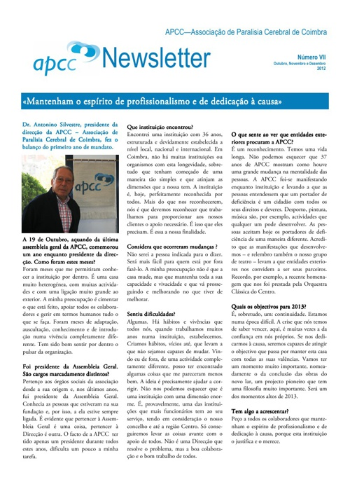 Newsletter VII
