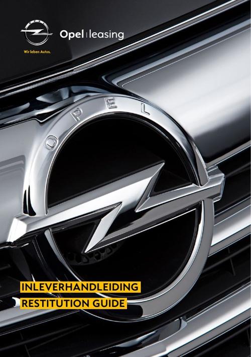 ALD Inleverhandleiding Opel