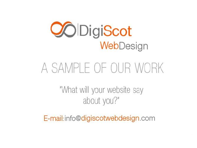 Digiscot Web Design Product Portfolio
