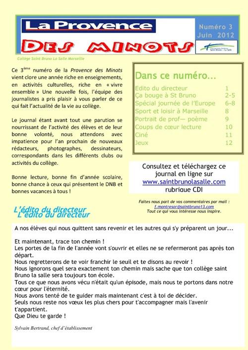 la provence des minots 3-juin 2012