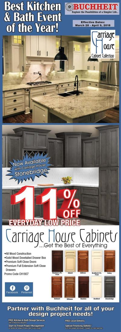 Ad 1807 Best Kitchen & Bath Event of the year!