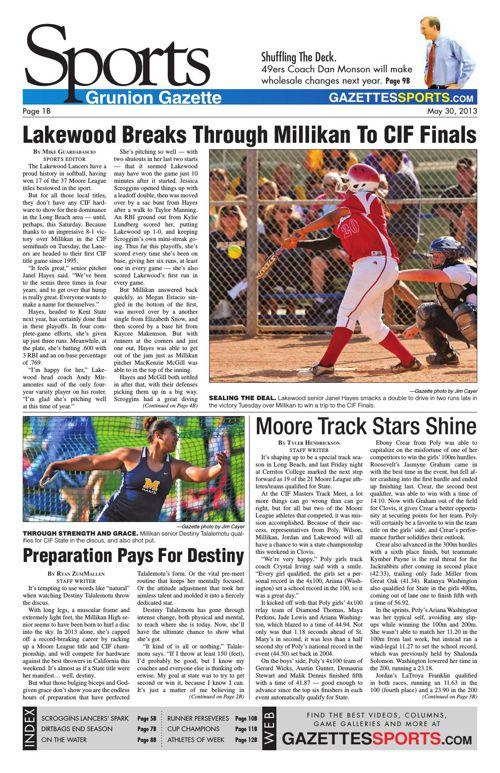 Gazette Sports | May 30, 2013