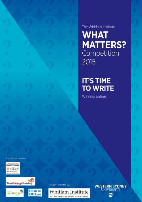2015 What Matters? Winning Entries
