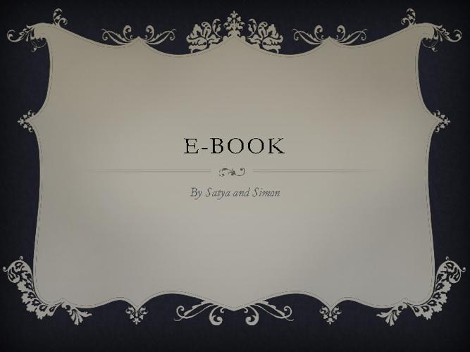 E-book Alisha khuttan