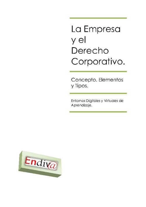 La empresa y el derecho corporativo