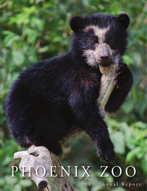 Phoenix Zoo 2013 Annual Report
