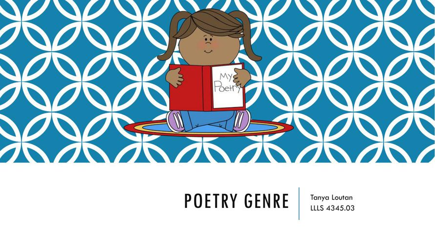 Poetry Genre Flipbook