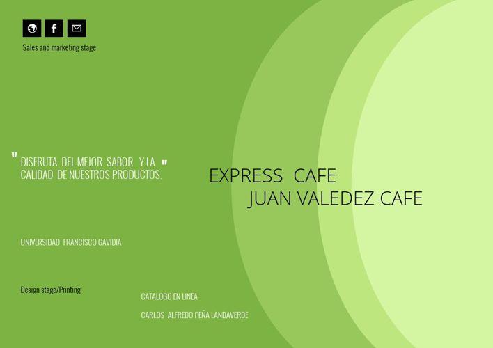 CAFE EXPRESS  JUAN  VALDEZ