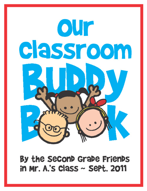 Our Classroom Buddy Book