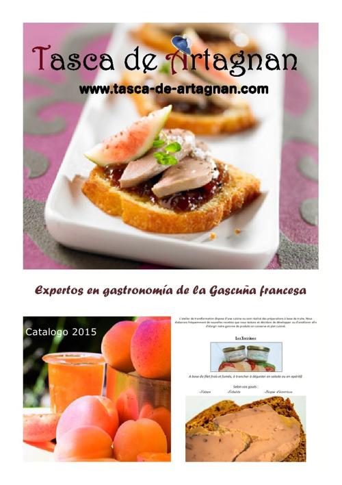 Catalogo  Gastronomia Tasca de Artagnan 2015