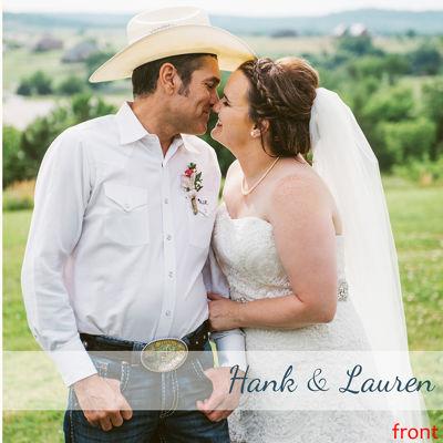 Hank & Lauren Wedding Book