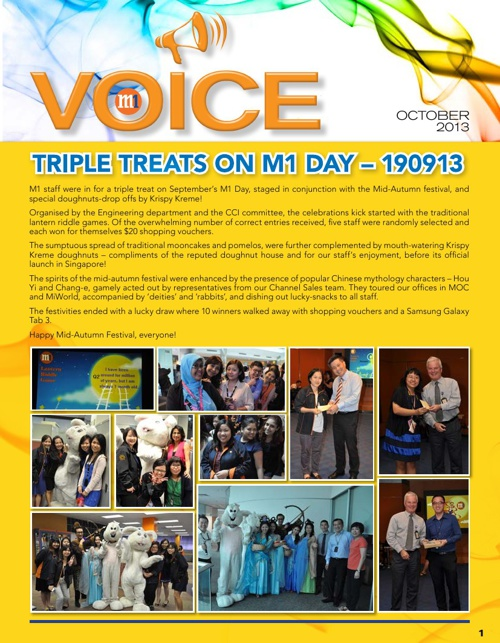 M1 Voice Newsletter