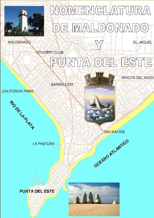 Nomenclatura de Maldonado y Punta del Este