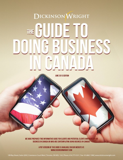 Guide To Doing Business In Canada