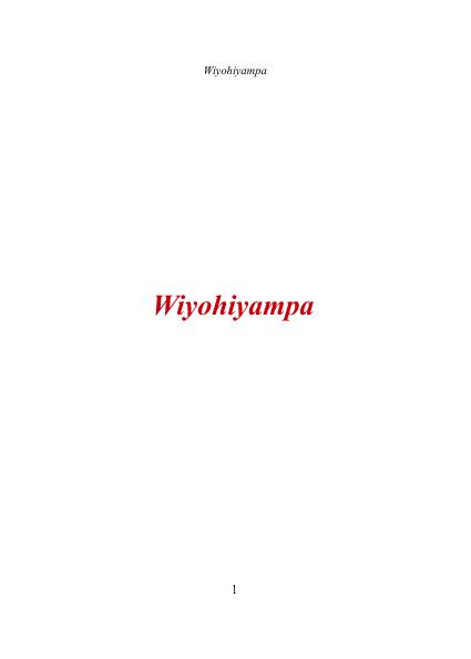 Wiyohiyampa