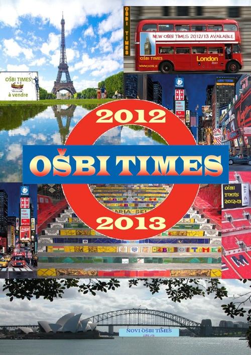OŠBI TIMES 2013