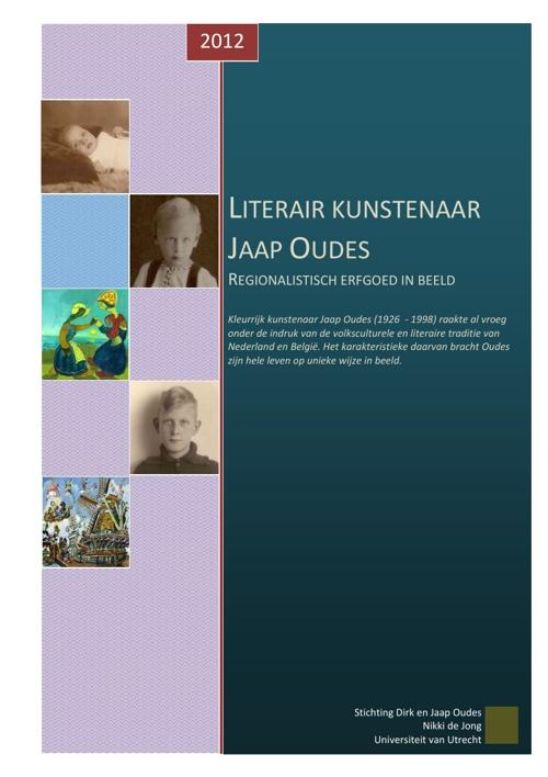 LITERAIR KUNSTENAAR JAAP OUDES