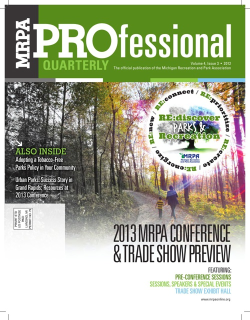 MRPA PROfessional Quarterly 4.3