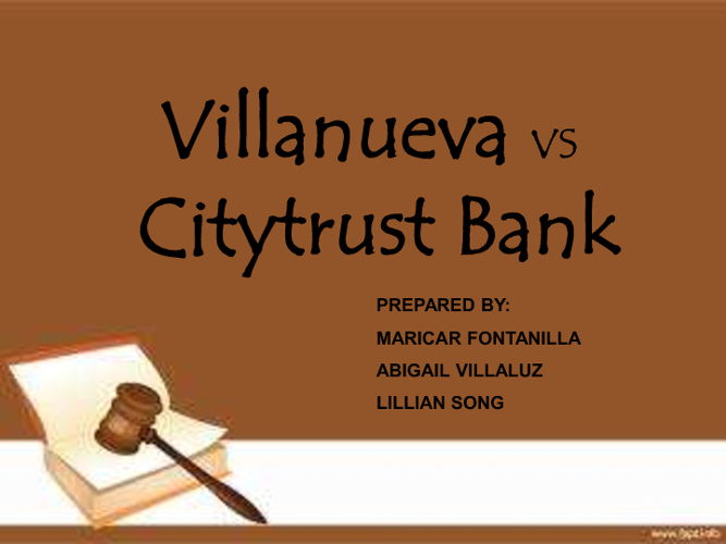 citibank vs villanueva