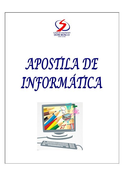 APOSTILA INFORMATICA