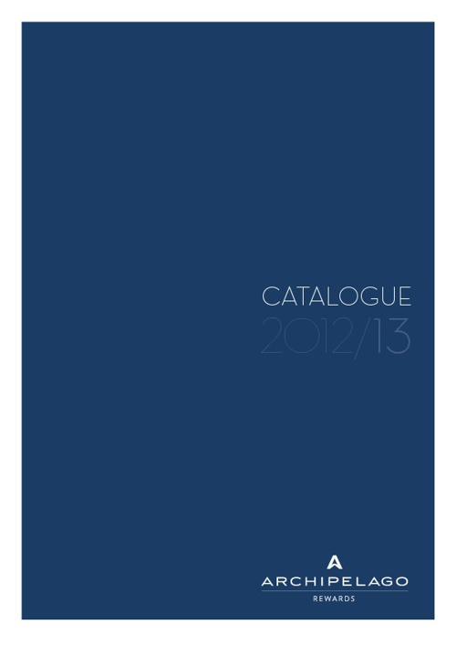 Copy of Archipelago Rewards Catalogue 2012/13