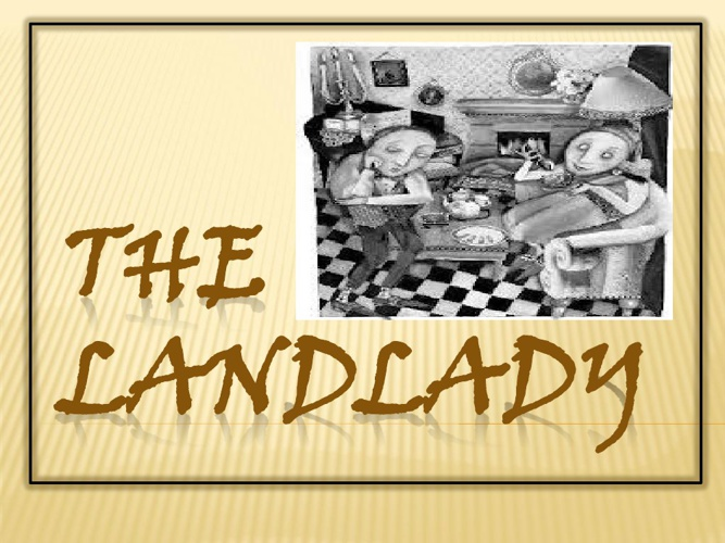 The Landlady- A Parody