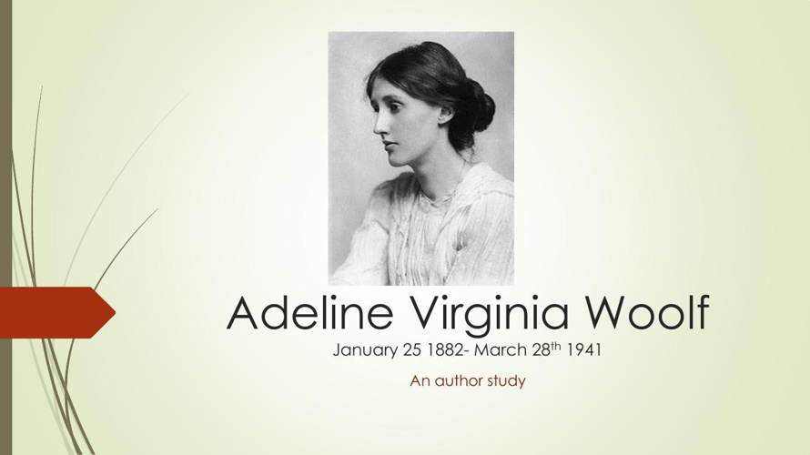 Adeline Virginia Woolf powerpoint