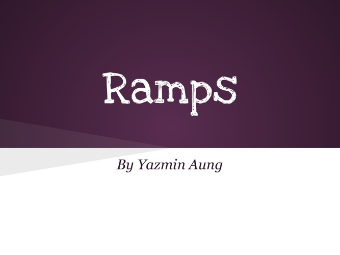 Ramps 8513