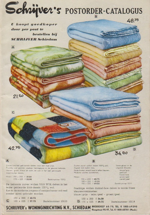 Catalogus Schrijvers Postorderbedrijf vóór 1962