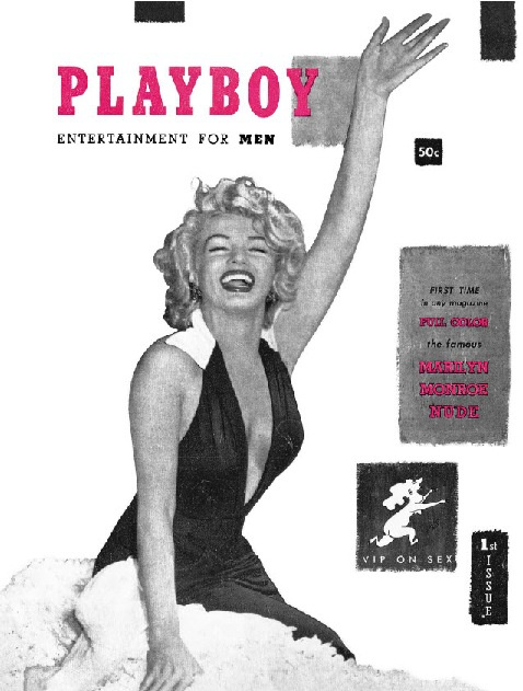PlayBoy n.º 1 - (1953-Marilyn Moore)