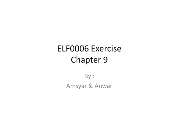 Chapter 9 - Religions